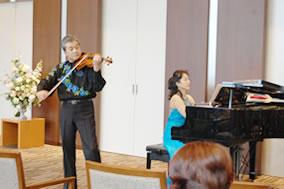 初秋のヴァイオリンコンサート
