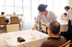 昼の茶話会~かき氷~