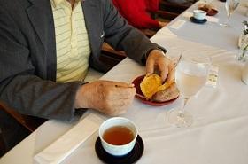 秋の茶話会