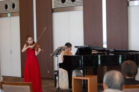 夏のヴァイオリンリサイタル
