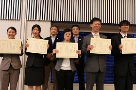 研究発表金賞受賞!